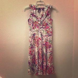 💐🌷Floral print midi dress, Donna Ricco